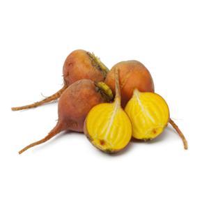 Beterraba amarela orgânica (500g)