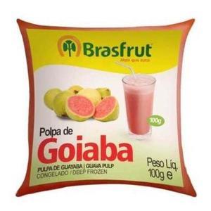 Polpa de Fruta BRASFRUT Goiaba 100g