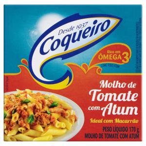 Molho Tomate com Atum Coqueiro Caixa 170g