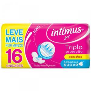 Absorvente 16un Intimus Gel c/abas LV+PG-