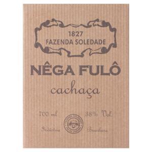 Cachaça Carvalho Nêga Fulô Garrafa 700ml