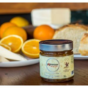 Geleia de laranja suave com especiarias 220g - Expressar Gourmet