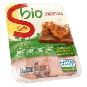 Sobrecoxa de Frango Congelada SADIA Bio 1kg