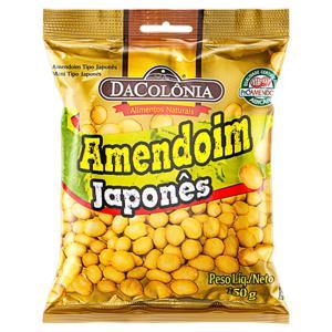 Amendoim Japonês DaColônia Pacote 150g