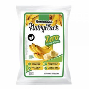 Bananada Nutryllack Zero Açúcar Tradicional 230G