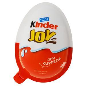 Chocolate ao Leite com Avelãs Kinder Joy 20g
