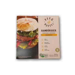 Hambúrguer Cenoura e Quinoa (250g)