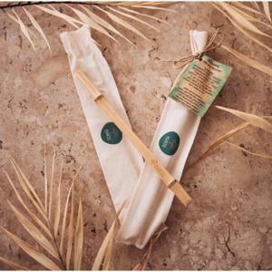 Canudinho de bambu (un) - Manju