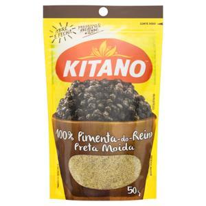 Pimenta-do-Reino Preta Moída Kitano Pacote 50g