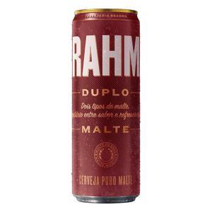 Cerveja Pilsner Duplo Malte Brahma Lata 350ml