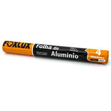 Papel Aluminio Foxlux 45X75Mt