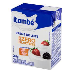 Creme de Leite UHT Zero Lactose Itambé Nolac 200g