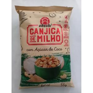 Canjica de milho c/ açúcar de coco - 50 g