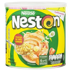 Flocos de Cereais Nestlé Neston Lata 400g