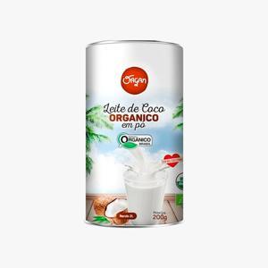 Leite de Coco em pó ( 200g) Vegano