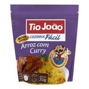 Arroz com Curry Tio João Cozinha Fácil Pacote 250g 2 Unidades