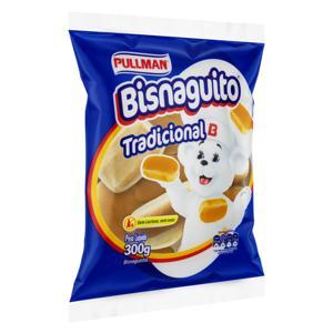 Pão Bisnaguinha Tradicional Zero Lactose Pullman Bisnaguito Pacote 300g