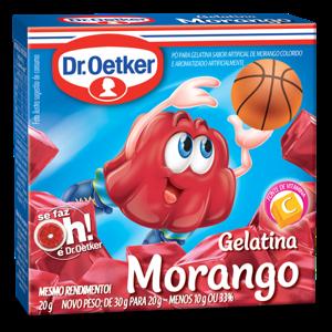 Gelatina em Pó DR.OETKER Morango 20g