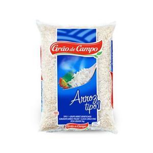 Arroz Grão de Campo Tipo 1 - Pacote 2kg