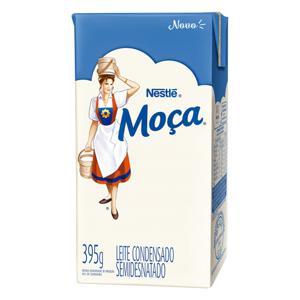 Leite Condensado Semidesnatado Nestlé Moça Caixa 395g