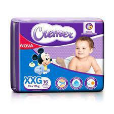 Fralda Cremer  Xxg 16Un Disney Baby