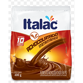 Achocolatado Italac 400g Sachê