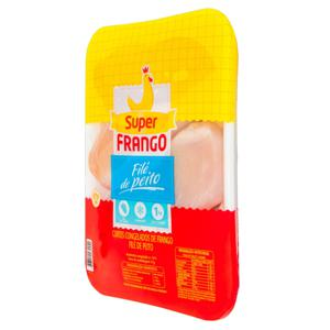 Filé de Peito de Frango Congelado SUPERFRANGO 1kg