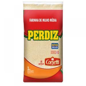 Farinha Milho Perdiz  1Kg Media