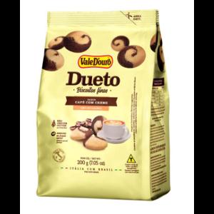 Biscoito Vale D'ouro 200g Dueto Café com Creme