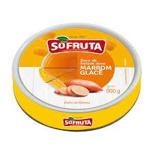 Doce Marrom Glace Sofruta 600G Lt