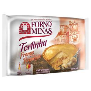 Torta FORNO DE MINAS Frango e Requeijão 180g