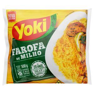 Farofa de Milho Yoki Pacote 500g