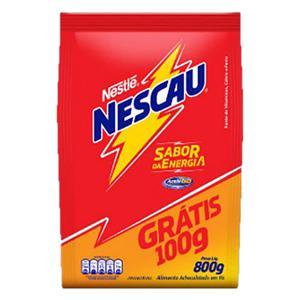 Achocolatado em Pó Nestlé Nescau Pacote Leve 800g Pague 700g