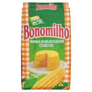 Farinha de Milho Flocada Bonomilho Pacote 500g