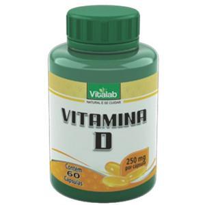 Vitamina D - 60 caps