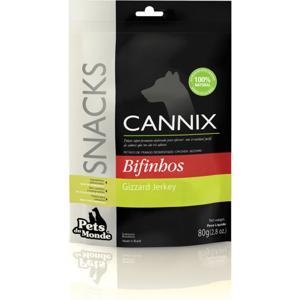 Cannix Gizzard Jerkey 80 g