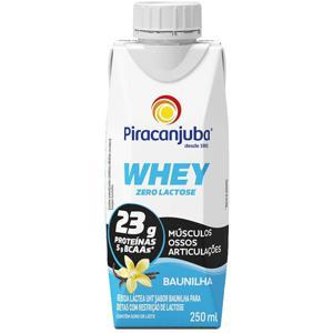 Bebida Láctea Whey Piracanjuba Baunilha 250ml