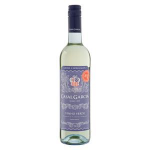 Vinho Português Branco Meio Seco   Casal Garcia Vinho Verde Garrafa 750ml