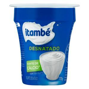 Iogurte Desnatado Itambé Copo 170g
