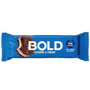 Barra Proteica Cookies e Cream Bold 60g