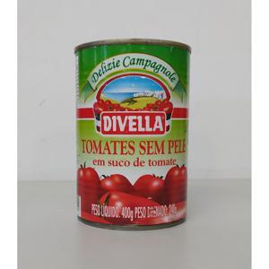 Tomate Divella S/Pele 400G