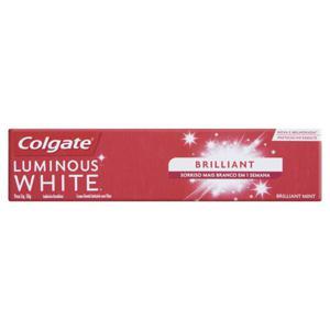 Creme Dental Brilliant Mint Colgate Luminous White Caixa 50g