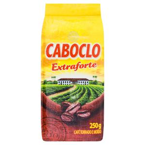 Café Torrado e Moído a Vácuo Extraforte Caboclo Pacote 250g
