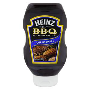Molho Barbecue Original Heinz Squeeze 538g