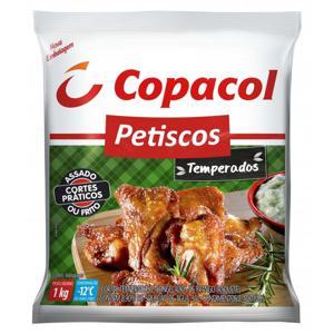 Petiscos de Frango COPACOL Temperado Congelado 1Kg