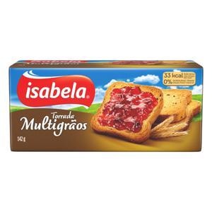 Torrada Multigrãos Isabela Pacote 142g
