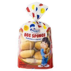 Pãezinhos Panco Egg Sponge Pacote 250g