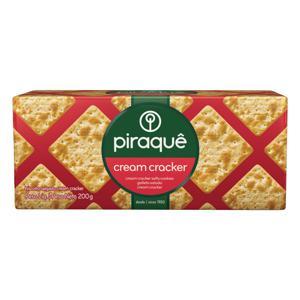Biscoito Cream Cracker Piraquê Pacote 200g