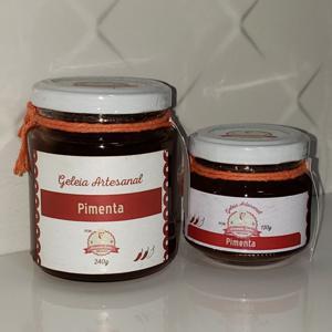 Geleia de Pimenta 120g - Amanda Sales Confeitaria