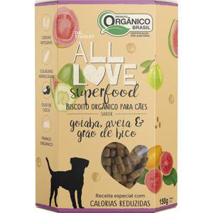 Biscoito Orgânico Superfood Para Cães Goiaba, Aveia & Grão de Bico 150g - Dr. Stanley